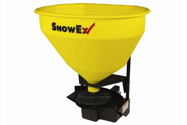 snowex wireless salt spreaders