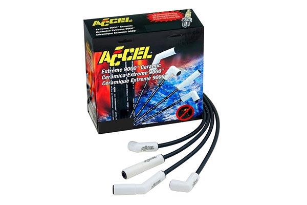 ACCEL Ceramic Spark Plug Wires - Accel Spark Plug Wire Sets p6142