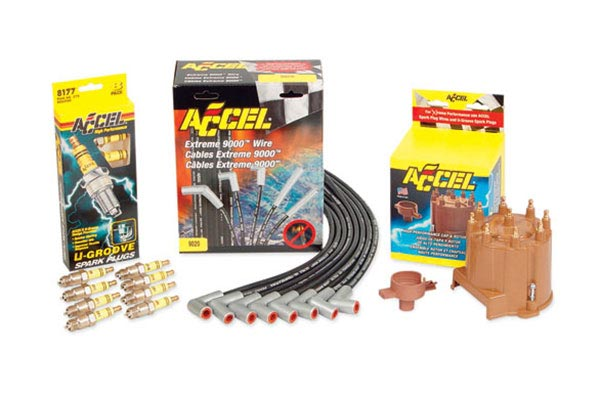 ACCEL TST (Truck Super Tune) Kits - Accel Truck Super Tune Kit - Spark Plugs, Spark Plug Wires & Distributor Cap