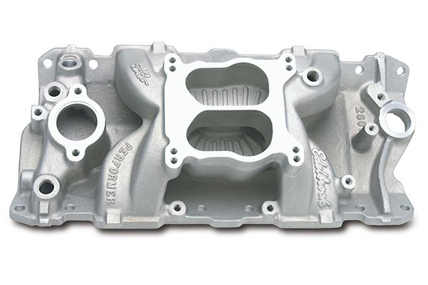 edelbrock performer air gap intake manifolds