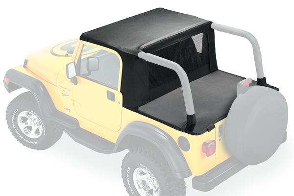 bestop halftop jeep soft top