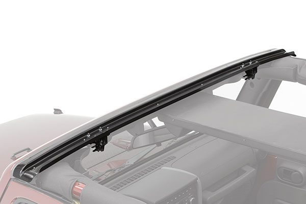 bestop soft bikini top windshield channels