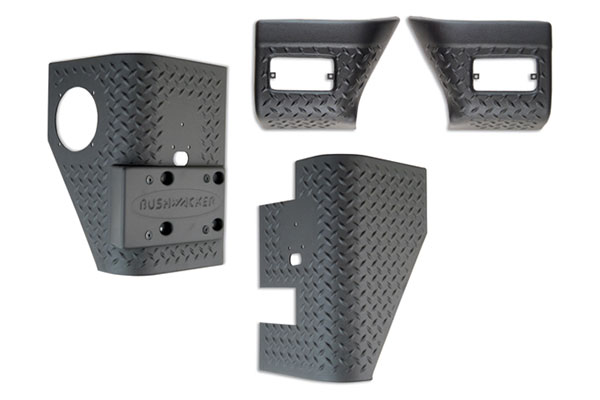 bushwacker trail armor front and rear corners
