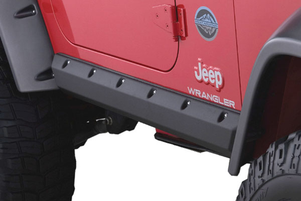bushwacker trail armor pocket style rocker panels