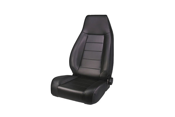 rugged ridge xhd reclining seats black denim