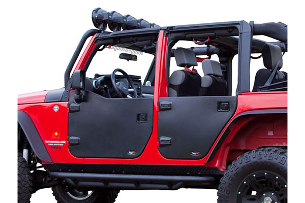 Free Shipping \u2013 No Minimum Purchase  sc 1 st  AutoAnything & Rugged Ridge Jeep Half Doors - Jeep Wrangler Half Doors by Rugged Ridge