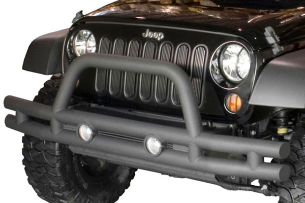 rugged ridge tube bumper