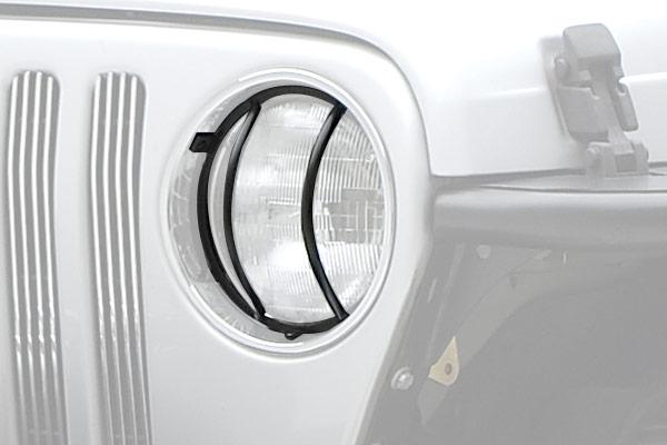 smittybilt jeep euro headlight guards