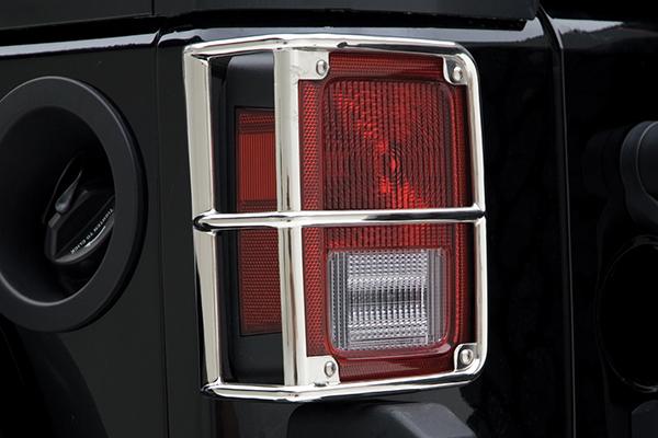 smittybilt jeep euro tail light guards