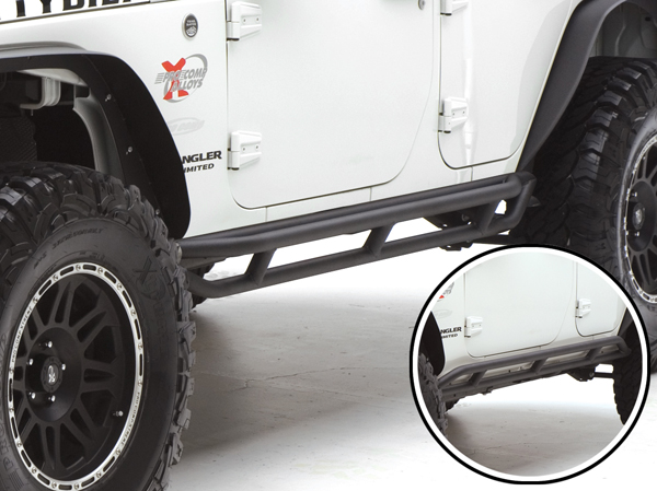 Jeep Wrangler Body Armor >> Smittybilt SRC Jeep Side Armor & Rocker Guards Reviews - Read Customer Reviews & Ratings on ...
