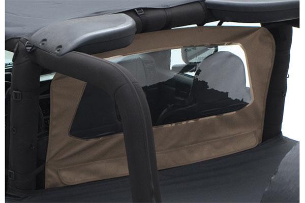 smittybilt outback jeep wind braker