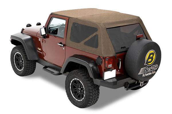 2002 Jeep Wrangler Bestop Trektop Jeep Top