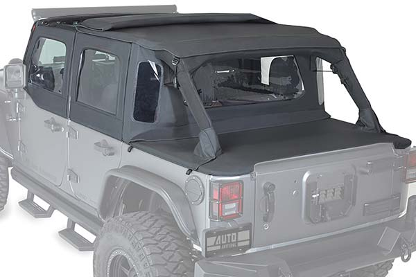 2009 Jeep Wrangler Rampage TrailView Tonneau Top