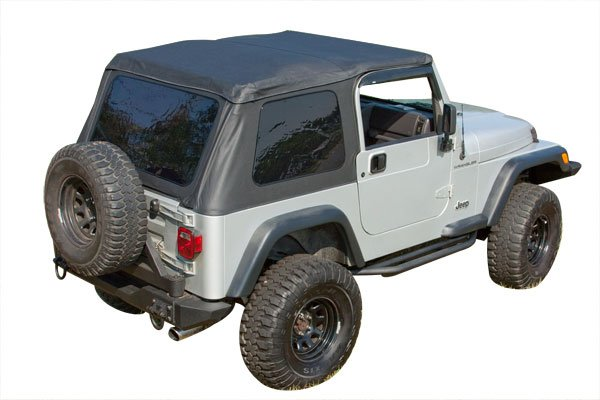 rugged ridge bowless xhd jeep softtop
