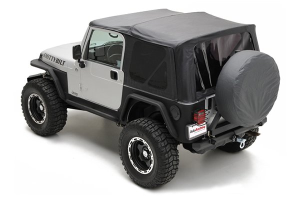 smittybilt replacement jeep soft top black 2