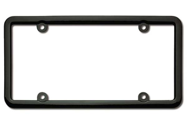 Cruiser Accessories Classic License Plate Frames, Metal & Chrome ...