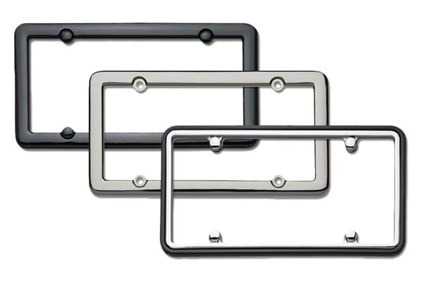 Cruiser Accessories Classic License Plate Frames, Metal & Chrome ...