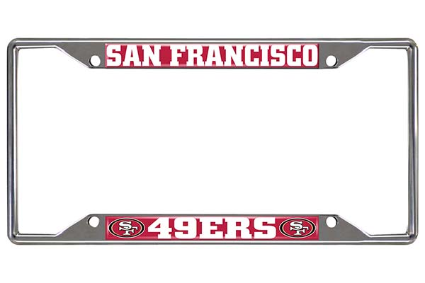 FANMATS NFL License Plate Frame