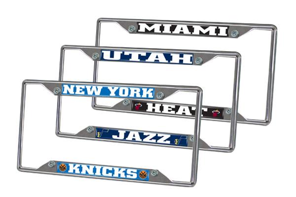 fanmats nba license plate frames