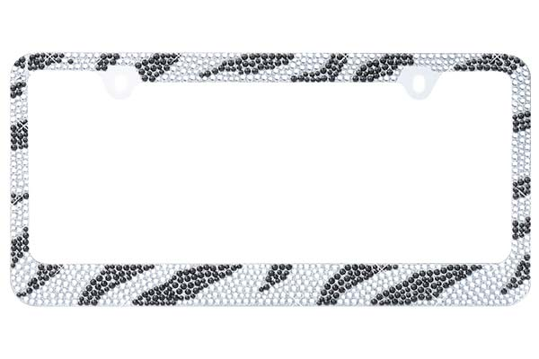 ProZ Zebra Bling License Plate Frame - FREE SHIPPING!