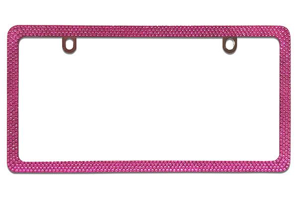proz bling license plate frame