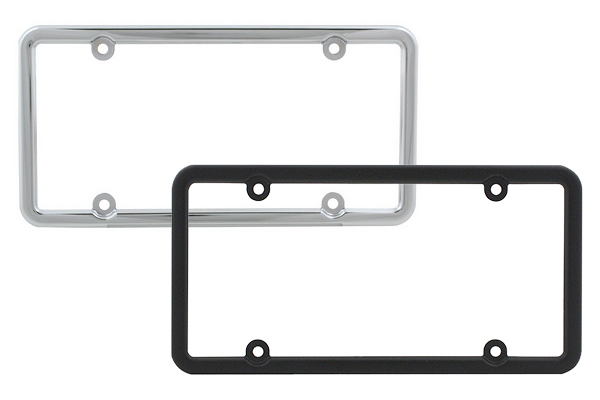 proz classic license plate frame