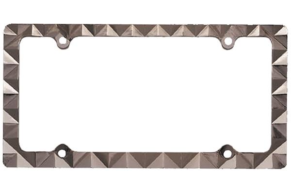 proz diamond license plate frame