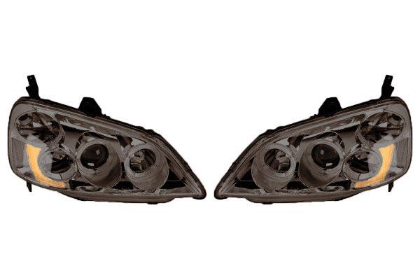 2013 Toyota FJ Cruiser Anzo USA Headlights 111115 Projector Headlights - 111115 3982-111115