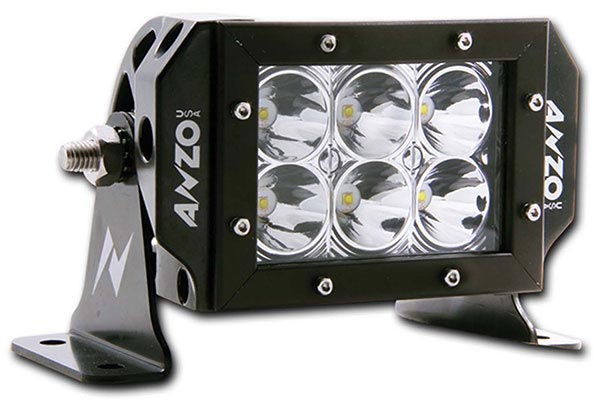 anzo usa rugged vision led off road lights 5261