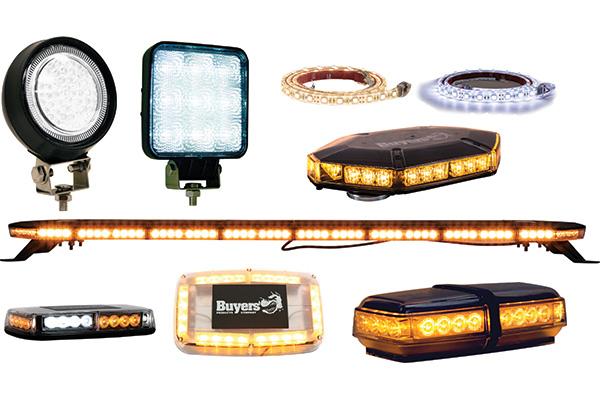 BUYERS 1492194 ULTRA BRIGHT 6.5 INCH WIDE RECTANGULAR LED FLOOD LIGHT