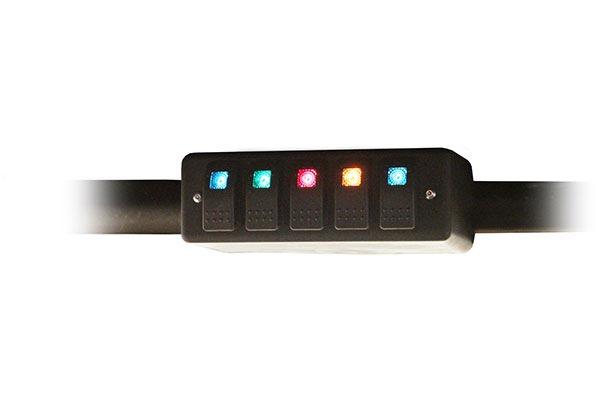 daystar roll bar switch panel