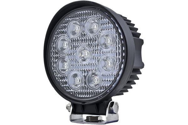 hella optilux round led work lamps