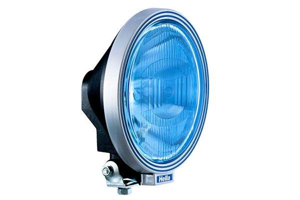 hella rallye 3000 blue lamp 122704