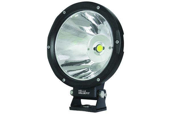 hella value fit driving light 7 round led driving lights. Black Bedroom Furniture Sets. Home Design Ideas