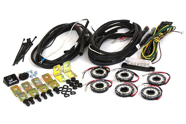 KC HiLites Cyclone LED Rock Light Kit | Reviews | FREE SHIPPING! on kc lights wiring diagram guide, kc light wiring harness, kc driving lights wiring,