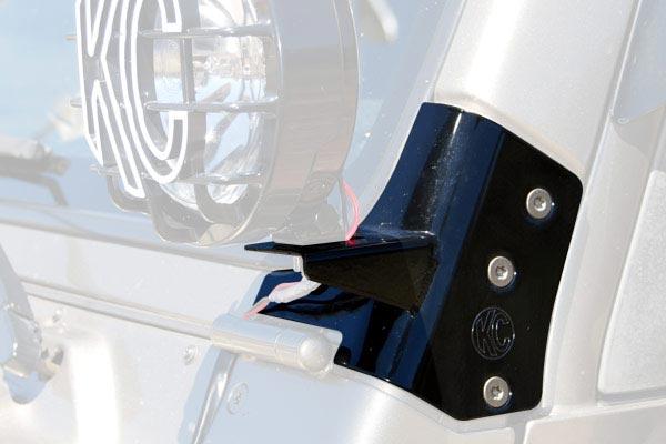 kc hilites windshield light mounting brackets