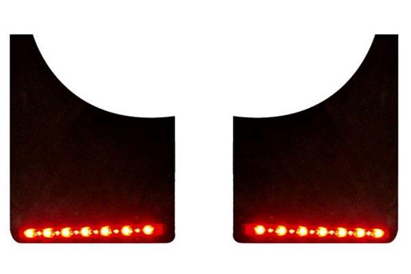 plasma glow fire and ice mud flaps lights
