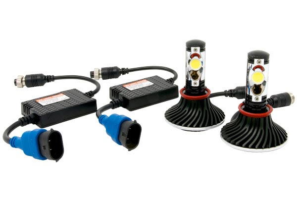 plasmaglow igniters led headlight bulb conversion kit