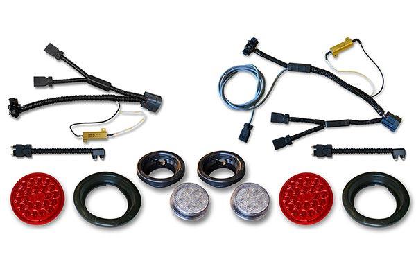 poison spyder led tail light kits