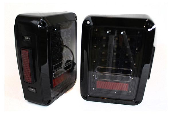 proz led black tail light replacement system