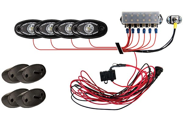 rigid industries led rock light kits