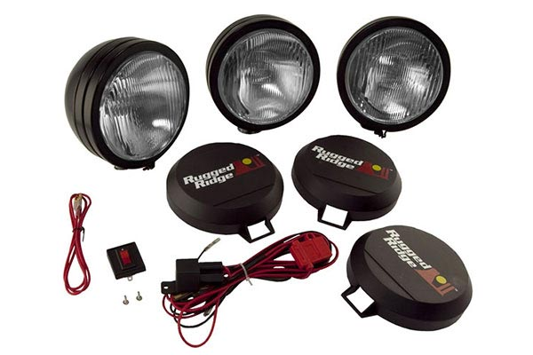 rugged ridge hid off road lights