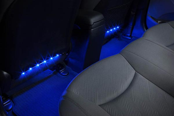 sylvania zevo interior led strip kit