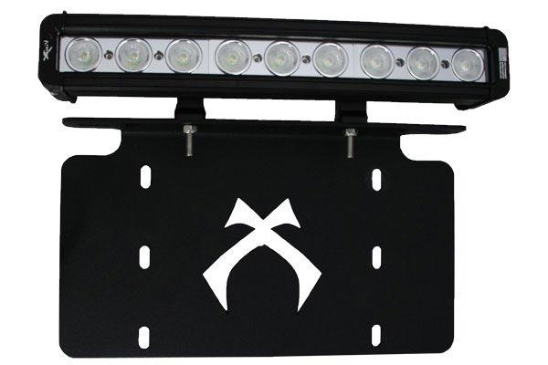 visionx license plate light bar bracket