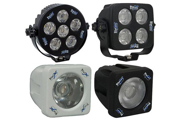 visionx solstice led off road lights