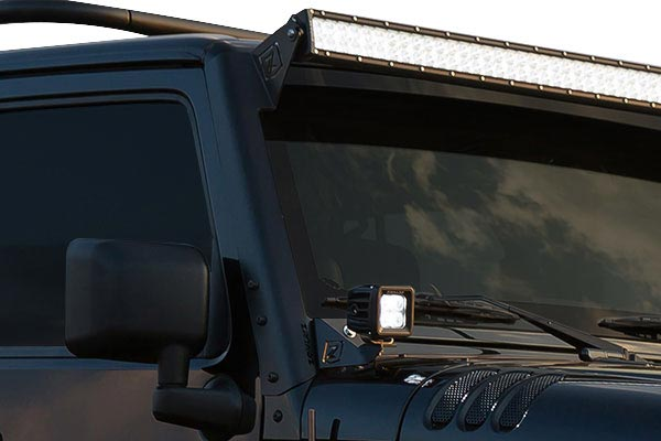 2007 Jeep Wrangler ZROADZ A-Pillar Light Mounts For Jeep Wrangler