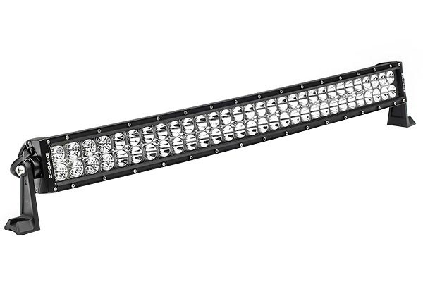 zroadz double row straight led light bar hero