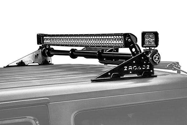 zroadz modular roof light mount hero