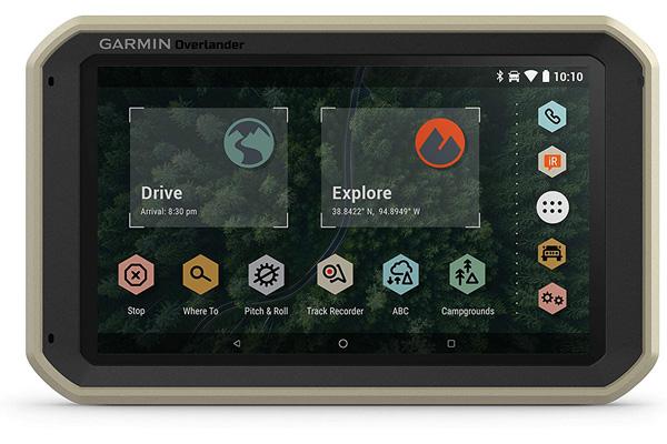 Garmin Overlanding GPS &坐骑