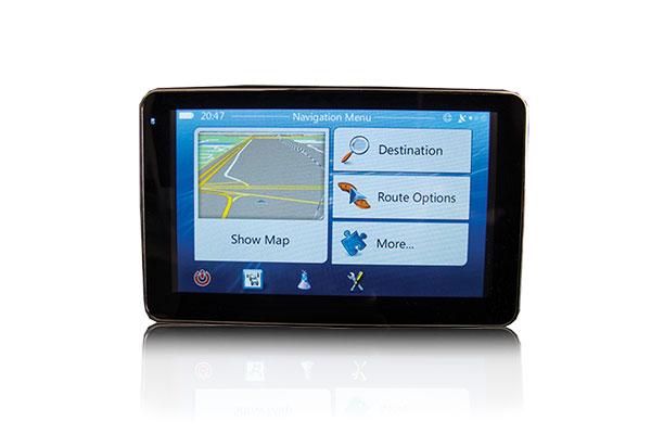 portable gps navigation unit AA RS GPS 5